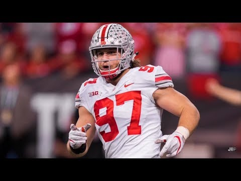 Best Pass Rusher in College Football || Ohio State DE Nick Bosa Highlights ᴴᴰ