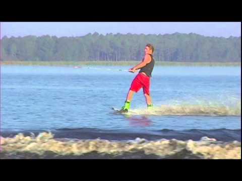 How to cross the wake wakeboard instructional video by Darin Shapiro