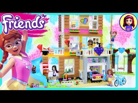 Lego Friends Friendship House Part 2 Clubhouse Build Review Silly Play