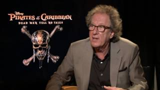 Pirates of the Caribbean 5 Interview - Geoffrey Rush