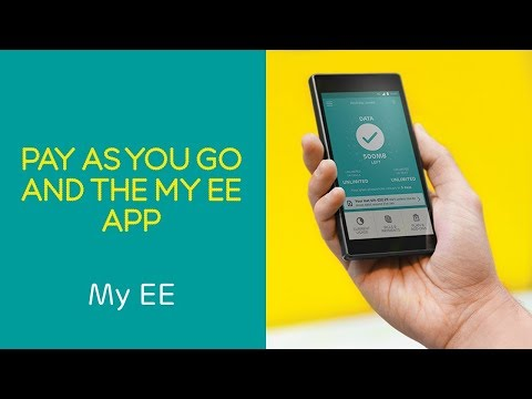 EE PAYG Help & How To: Stay in control with the My EE App