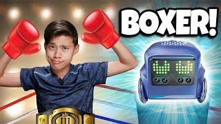 Download EVAN MEETS BOXER THE ROBOT!!! Video