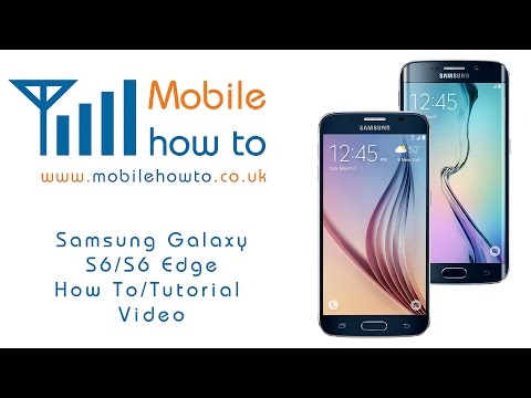 How To Send A Text/SMS Message - Samsung Galaxy S6/S6 Edge