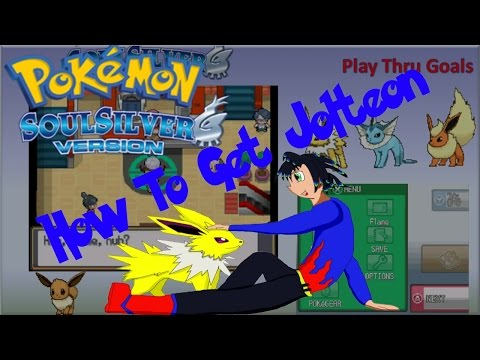 Pokemon Soul Silver: How to Get a Thunderstone To Get Jolteon