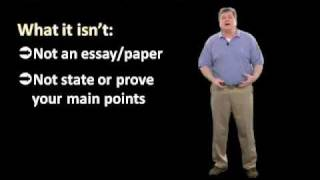 Writing The Literature Review Part One Step By Step Tutorial For Grad