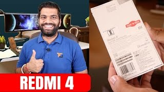 Xiaomi Redmi 4 India Unboxing and First Look...