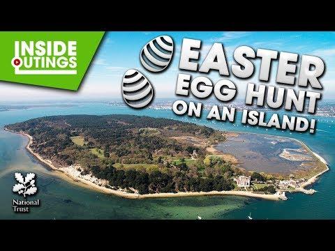 EASTER EGG HUNT ON AN ISLAND! 🥚🍫