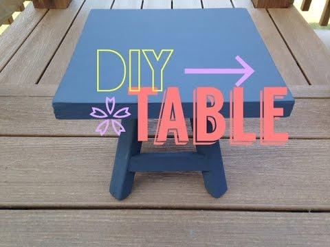 American Girl DIY Table