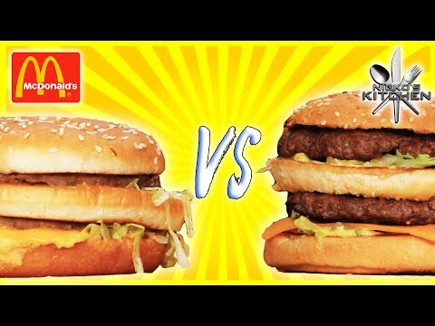 McDONALDS BIG MAC VS HOMEMADE - Secret Sauce EXPOSED!