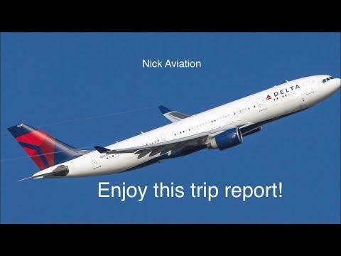 Delta A330-300 DTW-AMS Trip Report