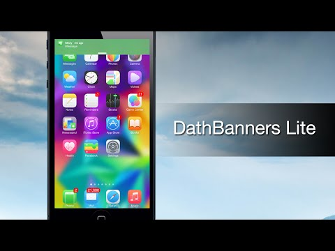 DathBanners Lite gives you banners that are app color specific - iPhone Hacks