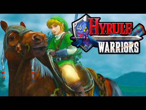 Hyrule Warriors 2 Player Co-Op! Epona Legend of Zelda Story PART 13 HD Gameplay Walkthrough Wii U