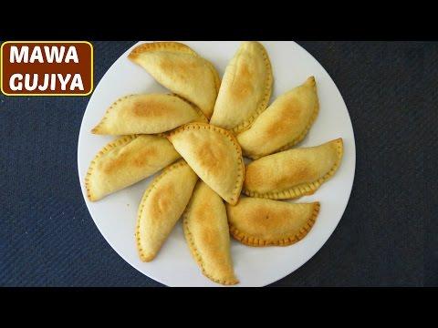 Mawa Gujiya Recipe (गुझियां बनाने का तरीका  )  | Holi Special Recipe | CookWithNisha