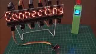 LED Matrix 8x32 Internet News Feed - Arduino Project