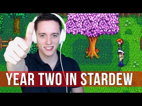Stardew Valley: Year Two Gameplay!