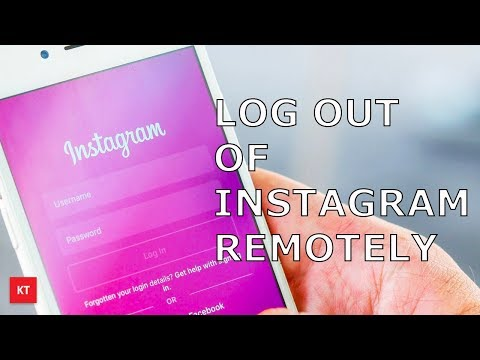 How to log out of Instagram remotely  from all devices if you forget to do so