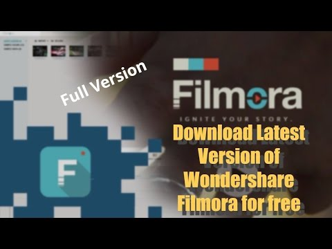 How to Download Latest Wondershare Filmora with Lifetime