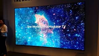 """Samsung """"The Wall"""" Micro-LED mit 146 Zoll (CES 2018)"""