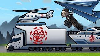 Minecraft - HACKER'S ULTIMATE FAMILY CAMPING TRIP! (NOOB vs PRO vs HACKER)