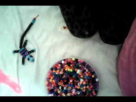How to make a beaded lizard DIY