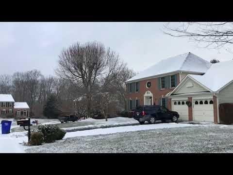 Winter Wonderland - Snow Fall in December