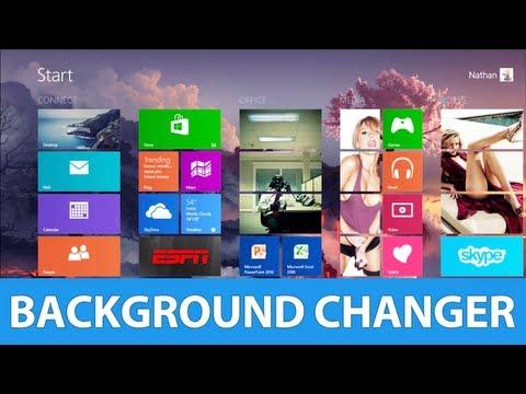 The Best Windows 8 Start Menu Background Changer