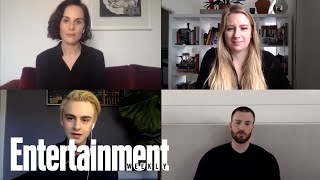 Chris Evans, Michelle Dockery, & Jaeden Martell Break Down 'Defending Jacob' | Entertainment Weekly