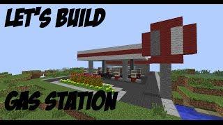 minecraft let s build 49 gas station part 1