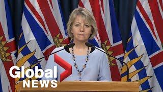 Coronavirus outbreak: B.C. records 53 new cases of COVID-19 and 1 death | FULL