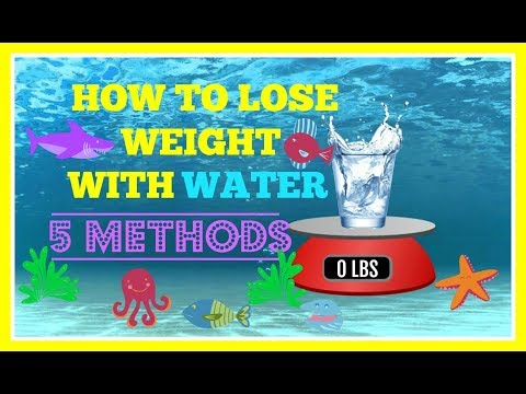 HOW TO LOSE WEIGHT WITH WATER |5 DRINKING METHODS|