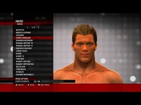 Superstar Heads in Create A Superstar - WWE 2k16 for Xbox 360 ( superstar head )