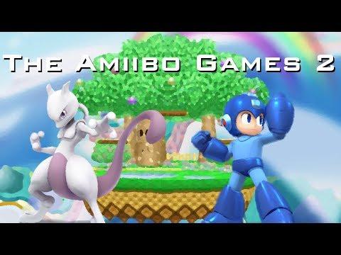 The Amiibo Games 2 - Round 3 Set 3   Espeon (Mewtwo) vs. MegaMango (Mega Man)