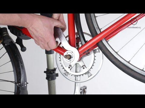 Remove A Bike's Cup And Cone Bottom Bracket
