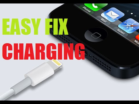 Iphone Not Charging easy fix