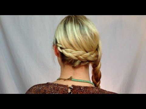 3 Strand Side Braid with Braided Back