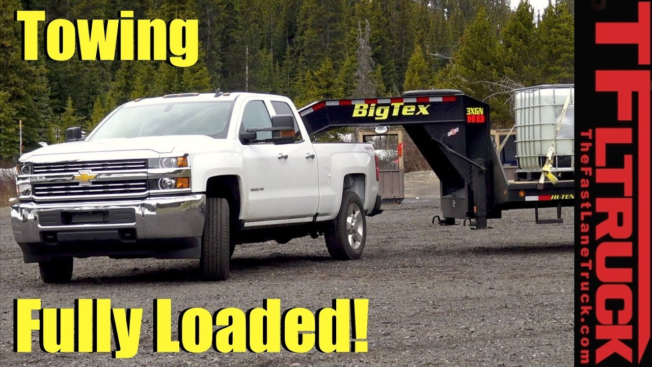 2017 Chevy Silverado HD 2500 Takes on the Super Ike Gauntlet World's Toughest Towing Test