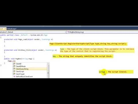 How to create Message Box in ASP NET  - C#