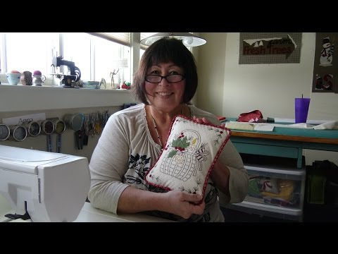 Pillow Piping and Forms Tutorial