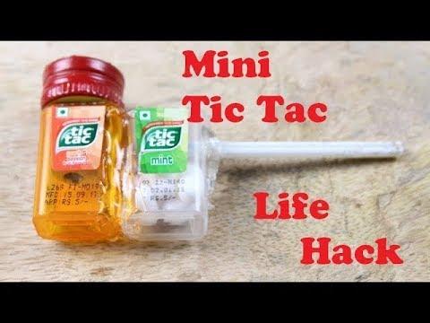 Mini Tic Tac Life Hack.
