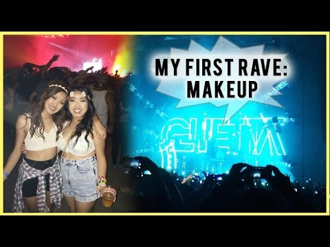 My First Rave: Makeup, New York, Updates! | ilikeweylie