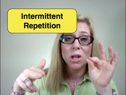 Improve Your Memory with Intermittent Repetition | Improve Memory | How to Boost Your Brain