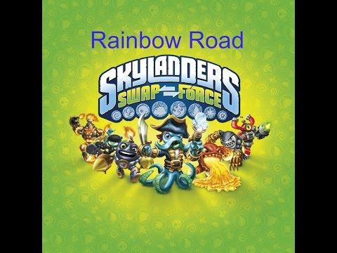 Skylanders Swap Force Rainbow bridge/road