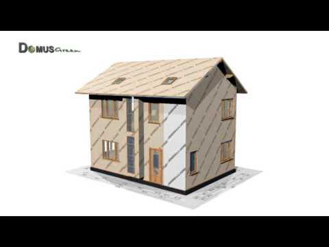 3D video animation/ building systems/ SIP panels