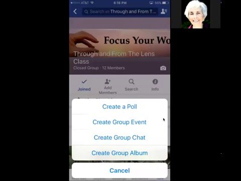 How to Create a Photo Album in a Facebook Group on a Mobile Device