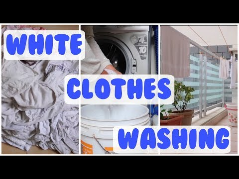 HOW TO WASH WHITE CLOTHES | WASHING MACHINE INDIA