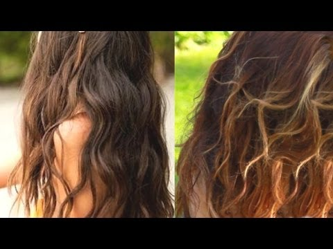 Heatless Beach Waves Tutorial + DIY Sea Salt Spray ♡