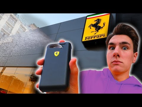 Guess What This Ferrari iPhone Case Can Do?