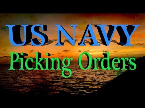 US NAVY! PICKING ORDERS?