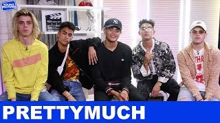 PRETTYMUCH: Matching Tattoos & Working With Simon Cowell!