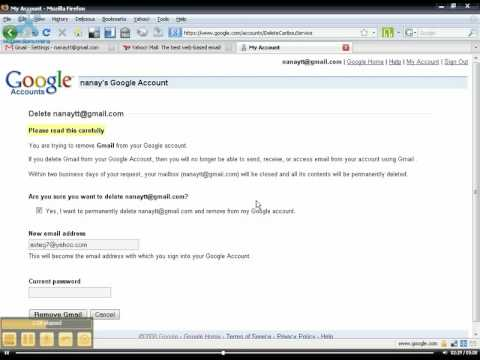 How to Delete Your Gmail Account